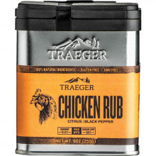Épices TRAEGER Poulet Chicken Rubs 250 g