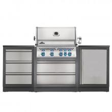 Cuisine extérieure Napoleon Oasis 100 avec barbecue BIPRO 500