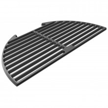 Demi grille en fonte pour Big Green Egg Large