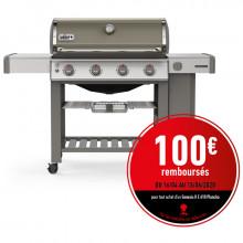 Barbecue Weber Genesis 2 E-410 GBS Smoke Grey avec Plancha