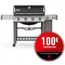 Barbecue Weber Genesis 2 E-410 GBS Black avec Plancha