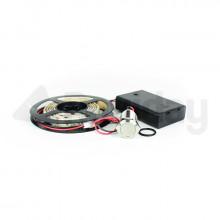 LED + boîtier pile + interrupteur - capot chariot PAF/PIF Forge Adour