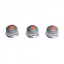 Lot de 3 boutons réglage gaz pour Genesis (boutons en façade)