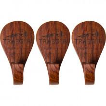 3 Crochets porte-ustensiles Traeger en bois à aimanter