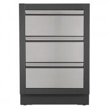 Meuble de rangement 3 tiroirs pour cuisine extérieure Oasis Napoleon