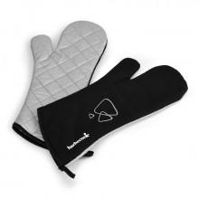Paire de gants longs noirs Barbecook