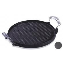 Planche en fonte 2 faces pour barbecue Cook'in Garden Ø 39,5 cm