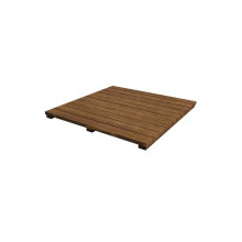Plateau en bois d'acacia pour bloc d'extension Big Green Egg