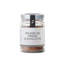 Poudre piments d'Espelette 40g Forge Adour
