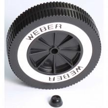 Roue 15 cm pour barbecue charbon Weber