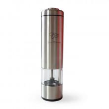 Moulin à poivre ou à sel électrique en acier inox Jean Darois