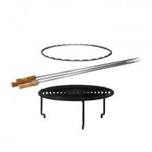 Set de cuisson grille et accessoires pour brasero OFYR