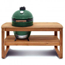 Table Acacia pour Barbecue Big Green Egg XLarge