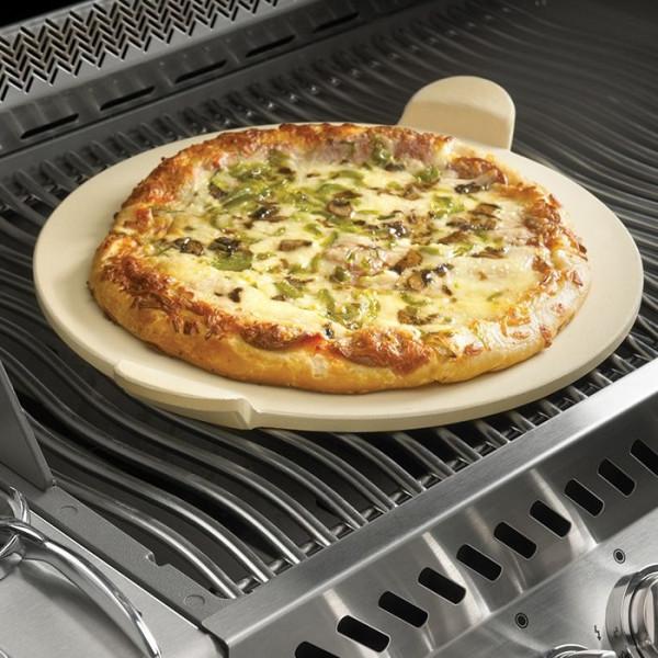 Pierre à pizza avec roulette Napoleon pour barbecue