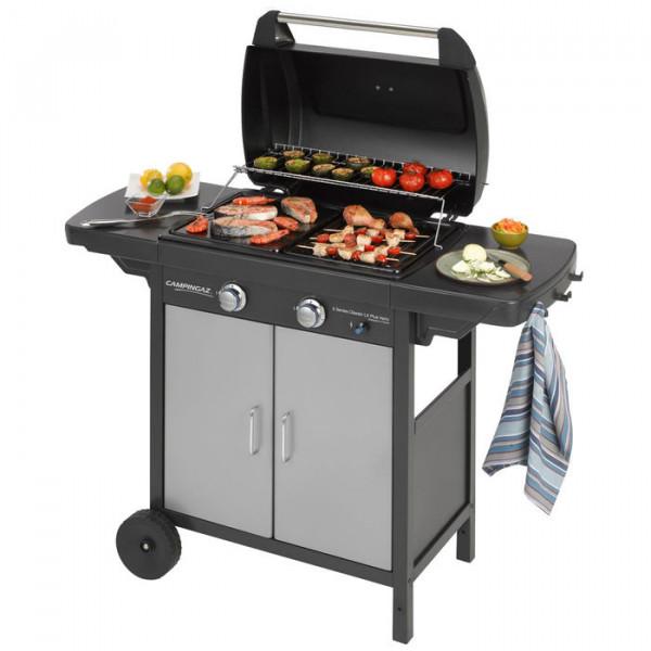 Barbecue Campingaz 2 séries avec grillades