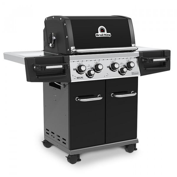 Barbecue à gaz 4 feux Broil King REGAL 490 Noir