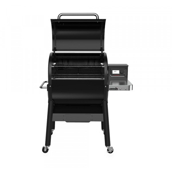 Barbecue à pellets Weber Smokefire EX4 GBS face couvercle ouvert
