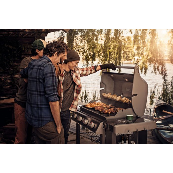 Barbecue Weber à gaz Genesis II E-410 GBS Black