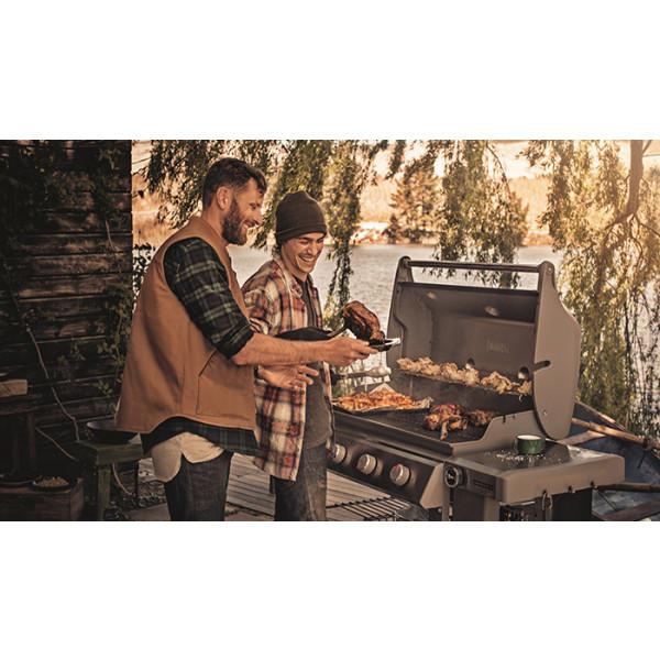 Barbecue Weber à gaz Genesis II E-310 GBS Smoke Grey grillades