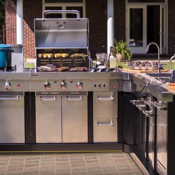 Barbecue Gaz Cuisine Extérieure Char-Broil Ultimate 3200
