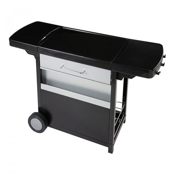 Chariot universel premium pour plancha à poser Campingaz tiroir