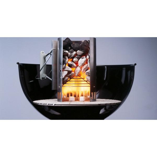 chemin e d 39 allumage weber petit mod le pour smokey joe. Black Bedroom Furniture Sets. Home Design Ideas