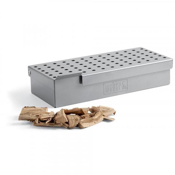 Boîte de fumage pour barbecue à gaz Weber