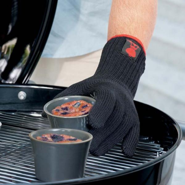 Gants spécial barbecue premium Weber - taille au choix - noir