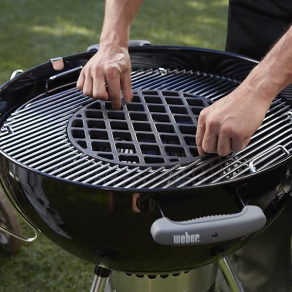 Grille de saisie Weber en fonte d'acier pour Gourmet BBQ System