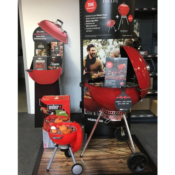 Barbecue Weber Master-Touch offre 30€ remboursés