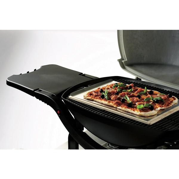 Pierre à pizza pour barbecue à gaz Weber