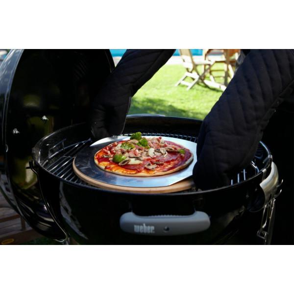 Pierre à pizza pour barbecue à charbon Weber