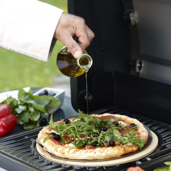 Faire une pizza avec un barbecue gaz Campingaz