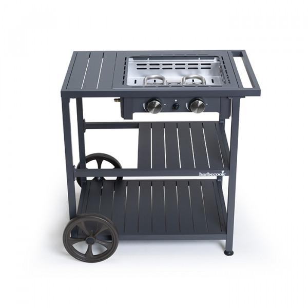 Plancha Gaz Barbecook Victor sur Chariot