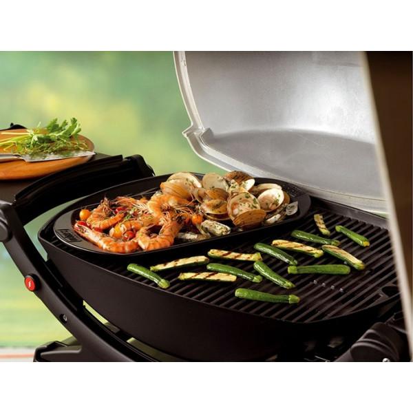 Plancha en céramique pour barbecue Weber 40 cm x 22 cm