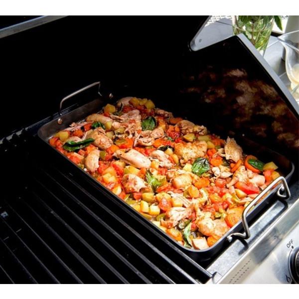 Plat à paella pour barbecue gaz Cadac Meridian