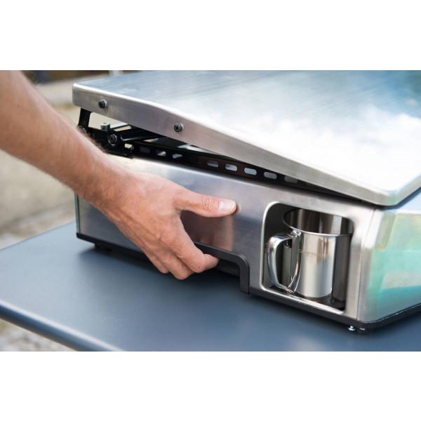 Le récupérateur de la plancha à gaz Campingaz Master Plancha EX