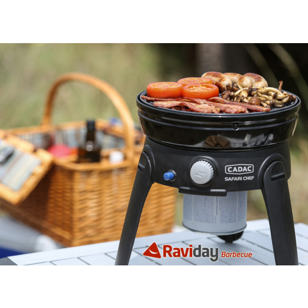 Barbecue à gaz Cadac Safari Chef 2 HP 30 cm