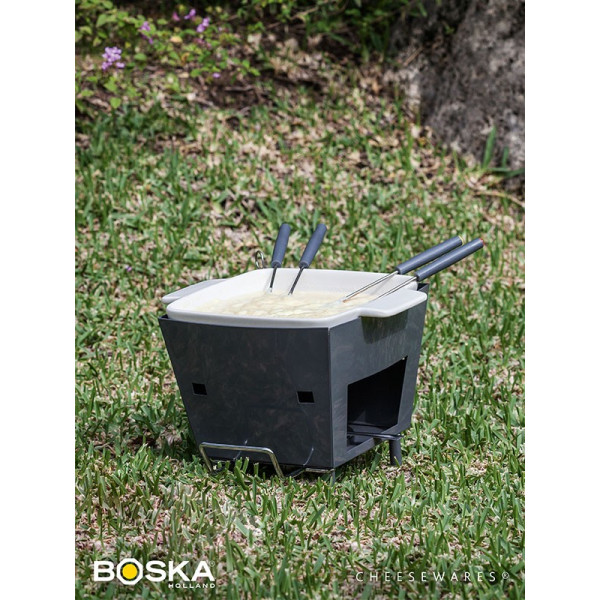 """Service à fondue d'extérieur 4 personnes """"Life"""" - BOSKA"""