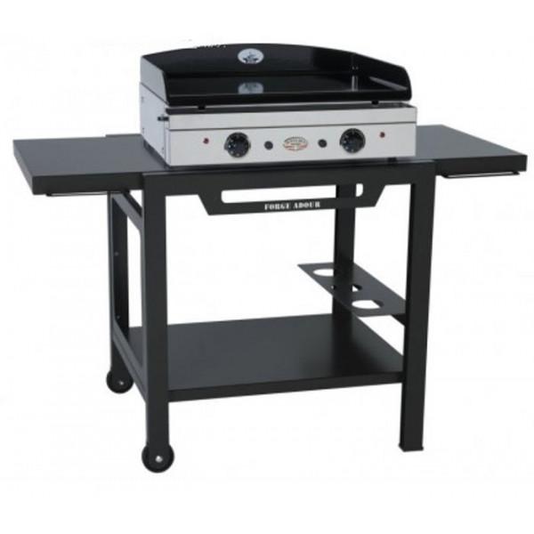 table roulante forge adour pour planchas 450 600 et 750. Black Bedroom Furniture Sets. Home Design Ideas