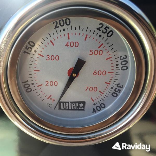 Barbecue à gaz Weber Genesis 2 E-310 GBS Black - thermometre