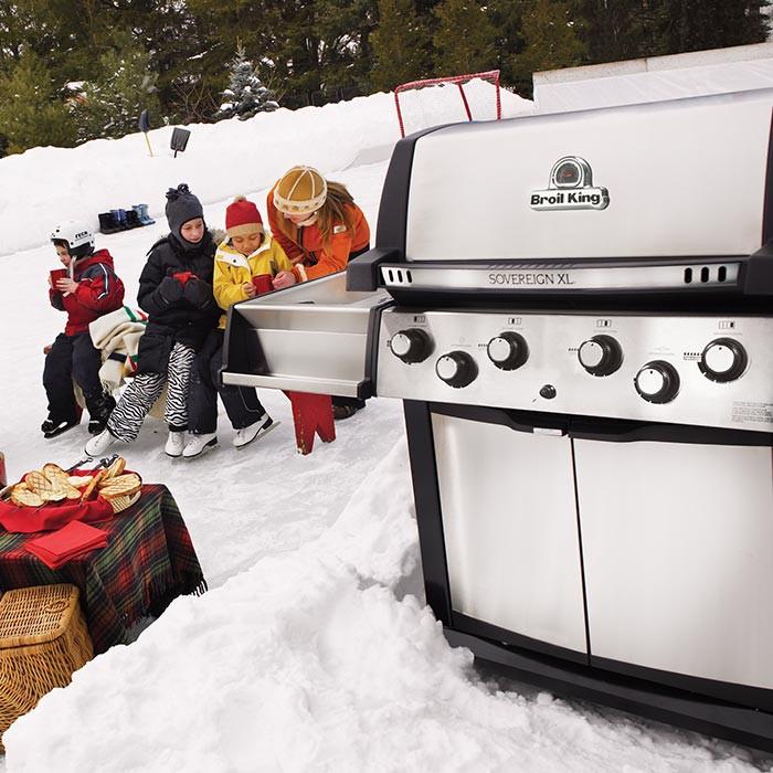 Barbecue à gaz 4 feux Broil King SOVEREIGN 90XL