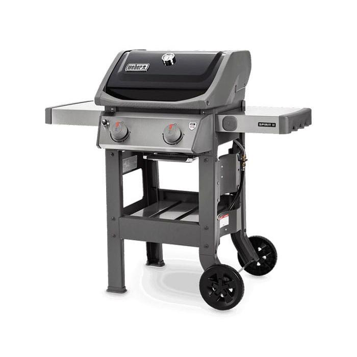 Barbecue à gaz Weber Spirit 2 E-210 Black avec Plancha