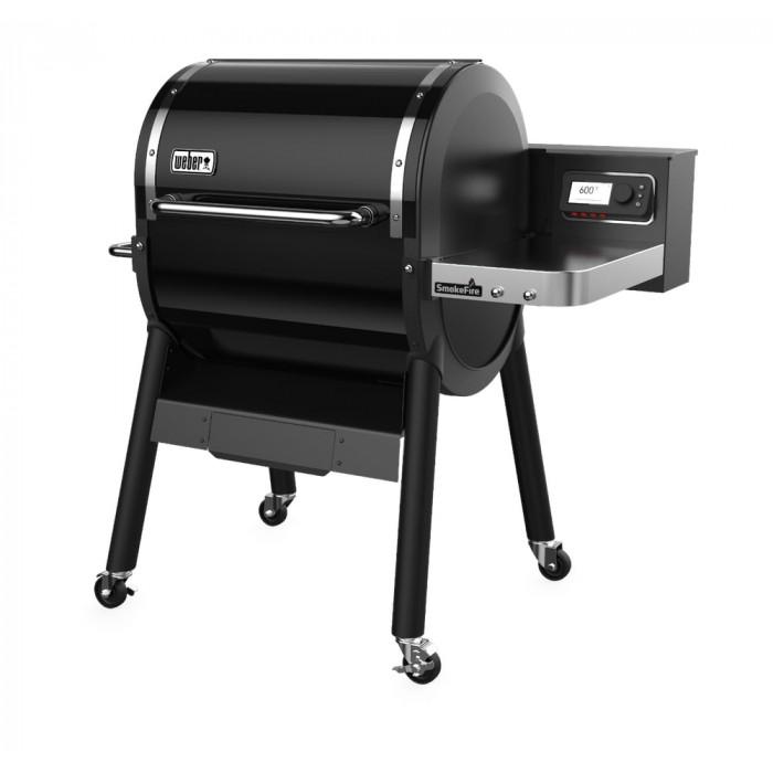 Barbecue à pellets Weber Smokefire EX4 GBS profil droit