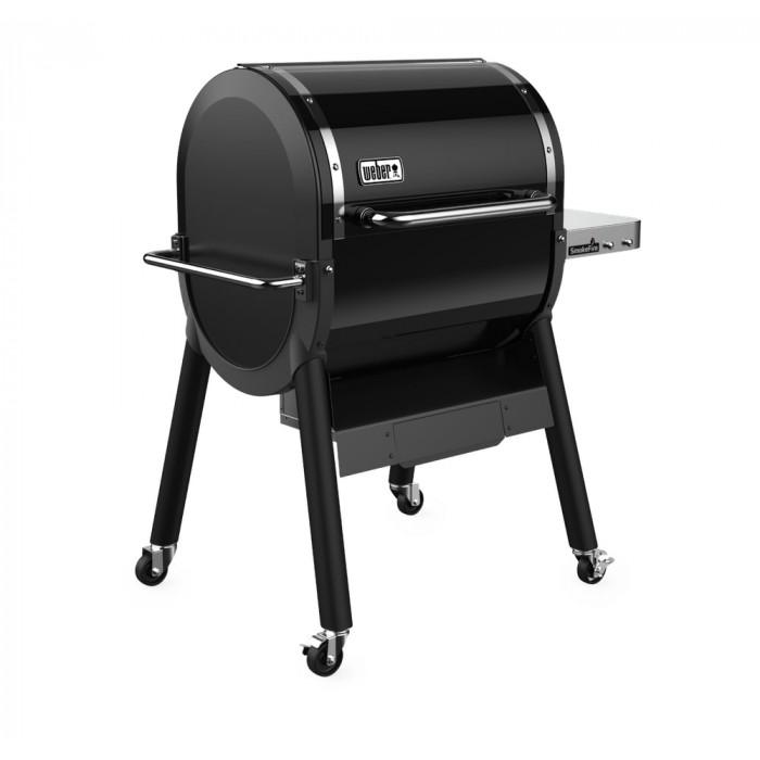 Barbecue à pellets Weber Smokefire EX4 GBS profil gauche