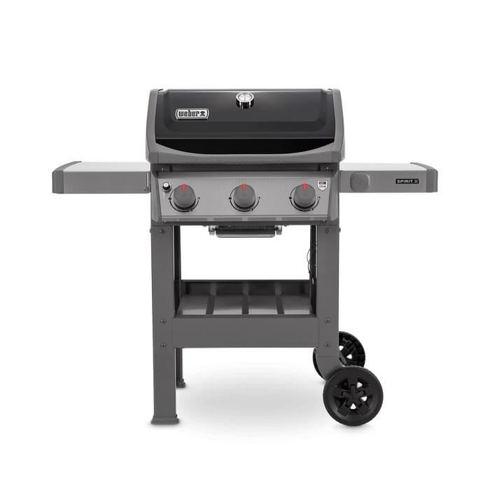 Barbecue à gaz Weber Spirit 2 E-310 Black avec Plancha