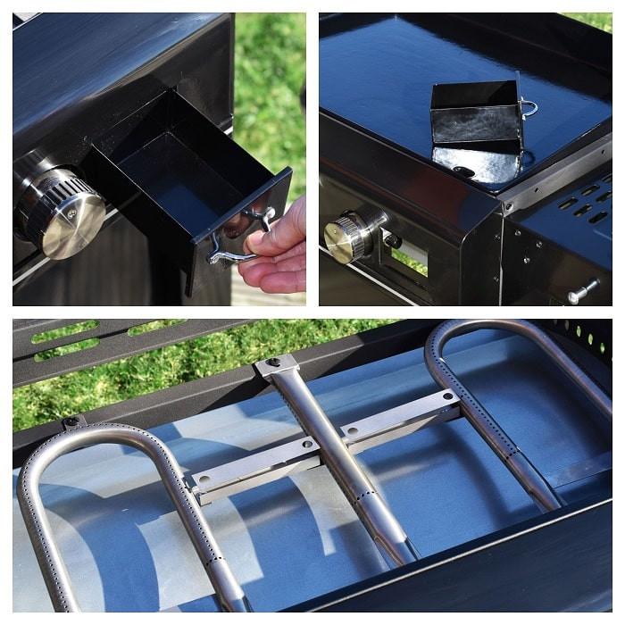 Plancha au gaz sur chariot Cook in Garden Finesta 3