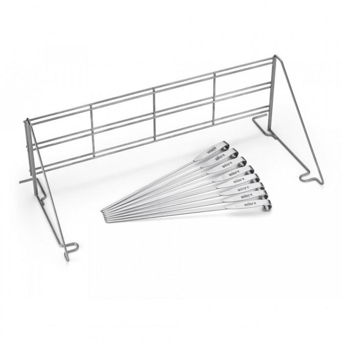 Système de cuisson vertical + 8 brochettes - Weber