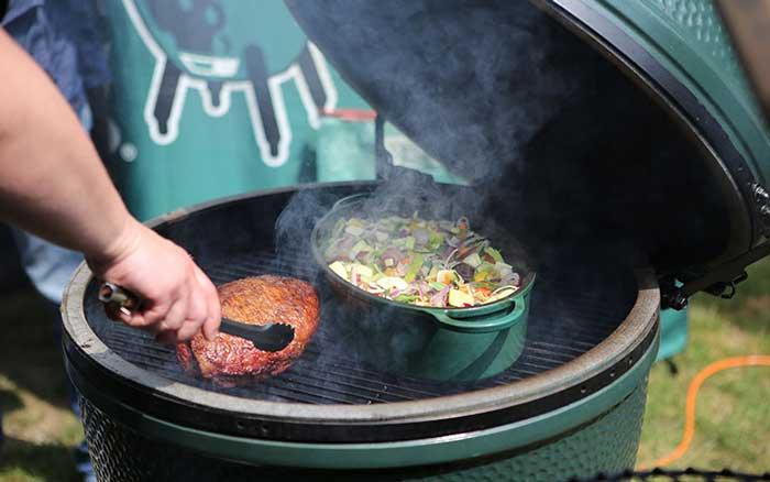 Barbecue céramique Big Green Egg Large - Pack original