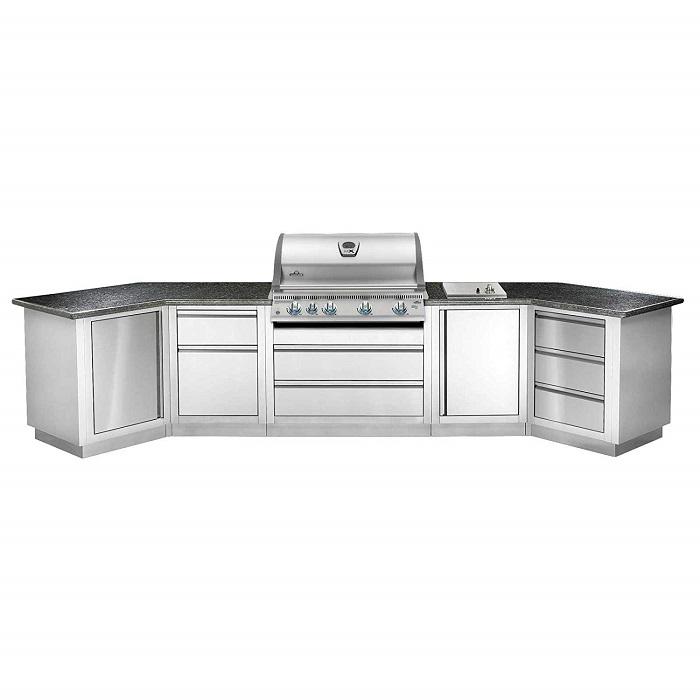 BILEX 605 encastrable avec cuisine exterieure